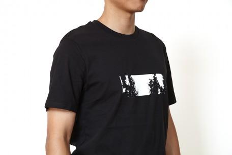 raster merch t-shirt black - m