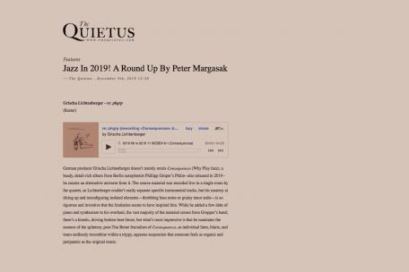 the quietus: jazz in 2019!