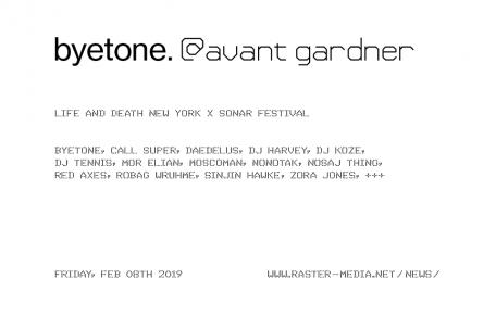 byetone live at avant gardner