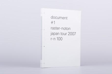 document #1 raster-noton japan tour 2007