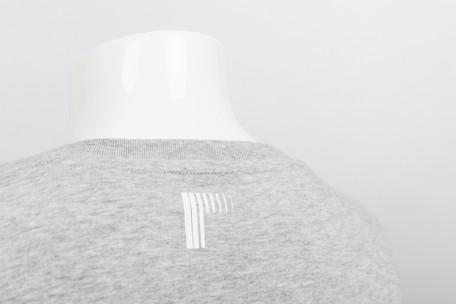 raster logo t-shirt grey