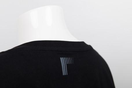 raster logo t-shirt black - s