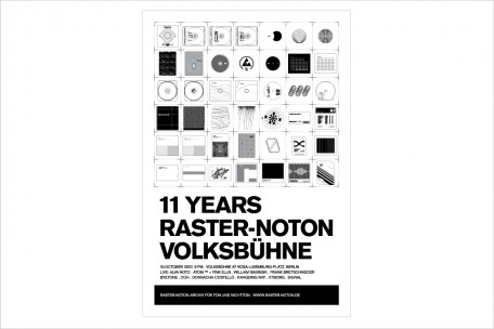 limited poster edition - raster-noton